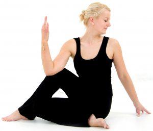 Ewelina Hagen, yogadocente in Elst