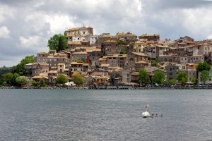 Bracciano meer Italie